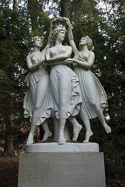 The Three Graces, Indianapolis Museum of Art - 20101115.jpg
