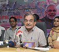 The Union Minister for Rural Development, Panchayati Raj, Drinking Water and Sanitation, Shri Chaudhary Birender Singh addressing at the launch of the 'SAMARTHYA', the Online Learning Portal (OLP) for MGNREGA, in New Delhi.jpg