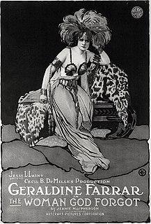 <i>The Woman God Forgot</i> 1917 film
