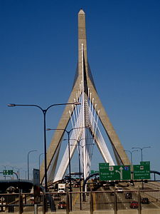 The Zakim Bridge - the favorite symbol of the Big Dig P8260325.jpg