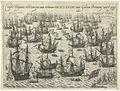 The demise of the Spanish Armada - Classis Hispanica celeberrima quae anno celeberrimo MDLXXXVIII inter Galliam Britaniamq venit & peryt.jpg