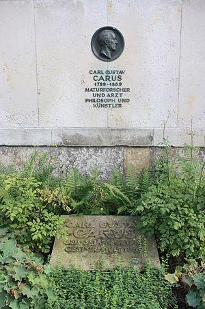 Carl Gustav Carus - The grave of Carl Gustav Carus, Trinitatis-friedhof, Dresden