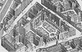 The grounds of the Hôtel de Rochechouart from the Turgot map of Paris circa 1737.png
