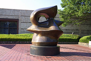<i>Spindle Piece</i> sculpture series by Henry Moore