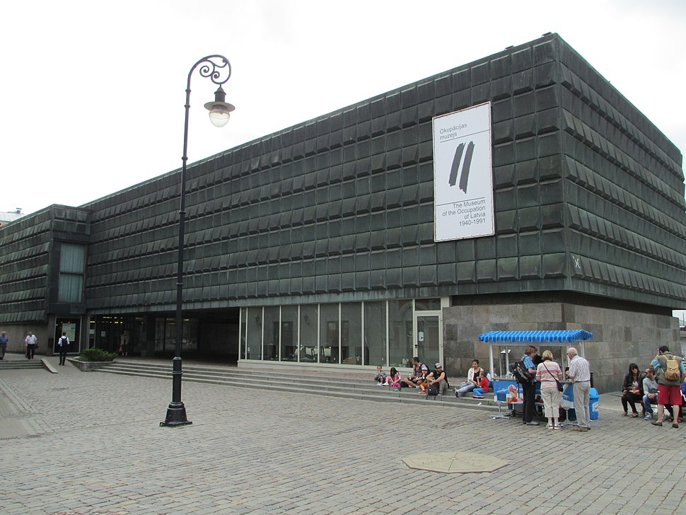 The museum of occupation of Latvia-Riga