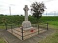 The roadside War Memorial at Salters Lode (geograph 4590358).jpg
