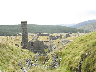 Rhiwbach quarry Disused slate quarry in North Wales