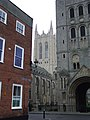 The tower of St.Edmundsbury cathedral - geograph.org.uk - 656157.jpg