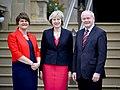 Theresa May visited Northern Ireland July 2016.jpg
