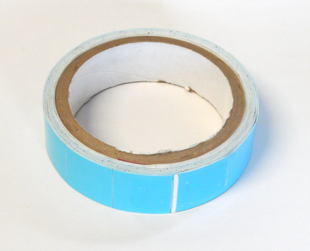 Roll of thermally conductive tape. Thermally conductive tape.png