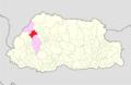 Thimphu Naro Gewog Bhutan location map.png