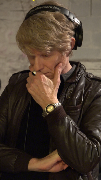 JG Thirlwell - recording at BC Studios in 2016