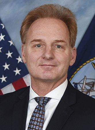 United States Under Secretary of the Navy - Image: Thomas B. Modly (cropped)