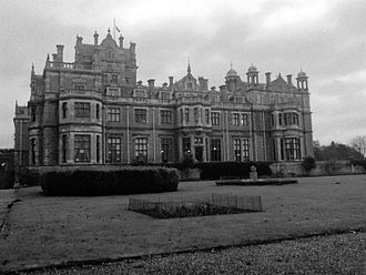 Thoresby Hall - The hall in 2007