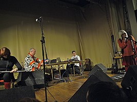 Throbbing Gristle performing in 2009