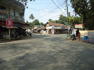 Thuravoor, Angamaly village in Kerala, India