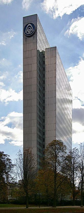 ThyssenKrupp - Former Thyssenkrupp building in downtown Düsseldorf