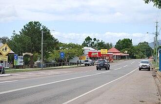 Tiaro, Queensland - Bruce Highway at Tiaro