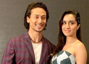Tiger Shroff - Shroff and actress Shraddha Kapoor, during promotions of their film Baaghi (2016).