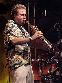 Tim Garland at Moers Festival 2004, Germany