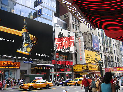 Times Square New York City FLIKR 2 42nd Street