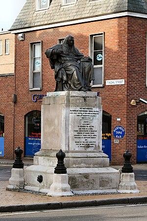 Nicholas Conyngham Tindal - Statue of Nicholas Tindal, Tindal Square Chelmsford.