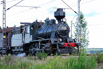 2-8-0 - Class Tk3 no. 1136 in special service from Kouvola to Kotka