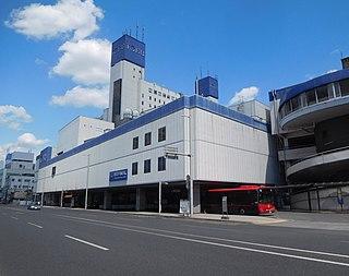 Tōbu-Utsunomiya Station Railway station in Utsunomiya, Tochigi Prefecture, Japan