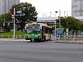 Tobus S-Z507 Higashi 15 departs Shinonome Station.jpg