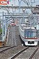 Toei 5300 series at Rokugodote Station (47985541266).jpg