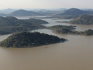 Tokwe Mukorsi Dam - Image: Tokwe Murkosi Islands Masvingo Zimbabwe