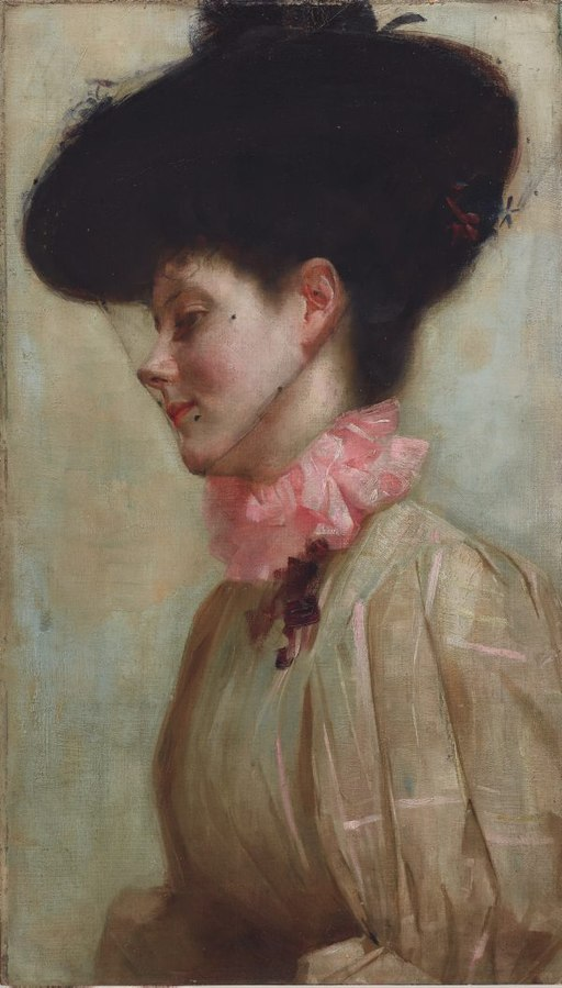 Tom roberts Portret of Florence