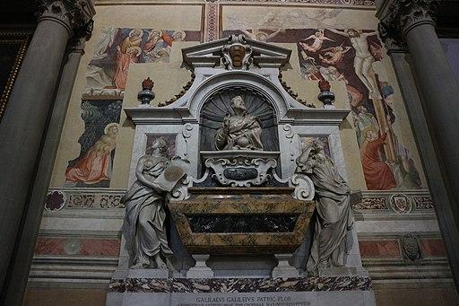 Tomba di Galileo Galilei Santa Croce