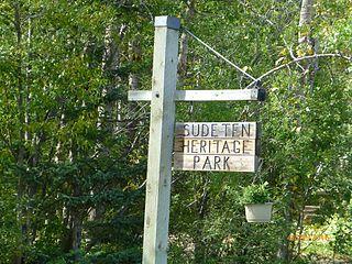 Sudeten Provincial Park former provincial park in British Columbia, Canada