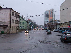 Kitseküla - Tondi street