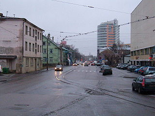 Kitseküla Subdistrict of Tallinn in Harju County, Estonia