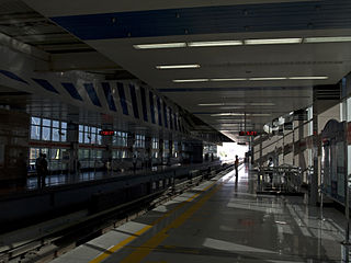 Tongzhou Beiyuan station Beijing Subway station
