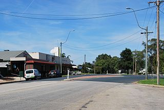 Tooleybuc Town in New South Wales, Australia