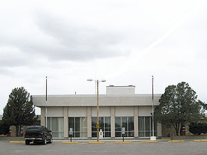 Torrance County (New Mexico) Court House, loca...