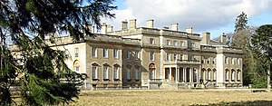 Tottenham, Wiltshire - Tottenham House, Wiltshire, east front, in 2006
