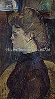 Toulouse-Lautrec - JULIETTE VARY, 1888, MTL.125.jpg