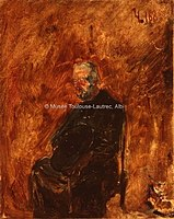 Toulouse-Lautrec - UN ECCLESIASTIQUE, 1883, MTL.101.jpg