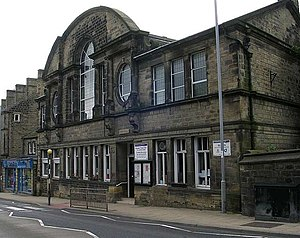 Silsden - Image: Town Hall Kirkgate geograph.org.uk 547156