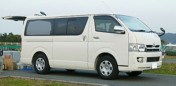 Toyota Hiace long van Super GL 2.5 turbo-diesel