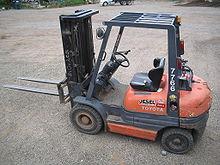 Il carrello elevatore è un mezzo comune per la movimentazione dei materiali.