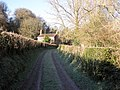 Track to farmhouse, near Burn Bridge, Bickleigh - geograph.org.uk - 1625542.jpg