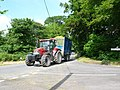Tractor at Benville Bridge - geograph.org.uk - 842387.jpg
