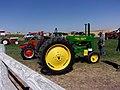 Tractor at Vintage Harvest Festival, Davenport, WA. (37083767892).jpg