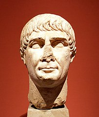 Portrait of Trajan after Decennalia type