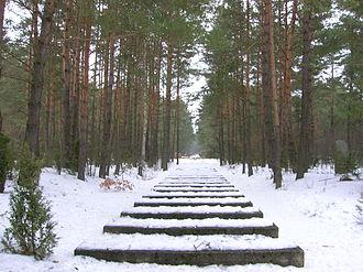 Treblinka extermination camp - Image: Treblinka Rail tracks